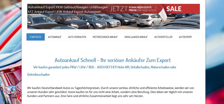 autoankauf in ganz deutschland - Autoankauf in ganz Deutschland