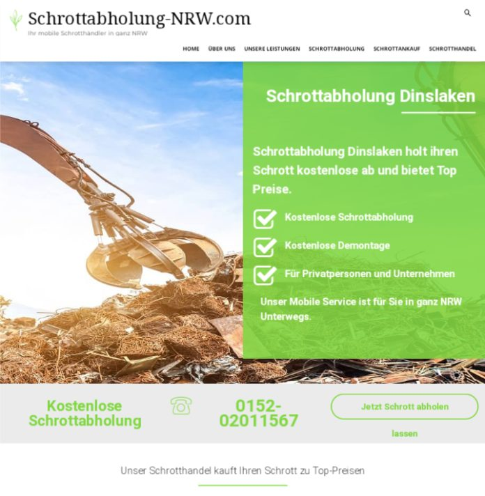 image  696x712 - Schrottabholung Dinslaken:  ermöglicht eine professionelle und unkomplizierte Schrottentsorgung
