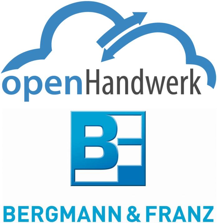 390545 696x717 - Der SHK-Großhandel Bergmann & Franz arbeitet mit der Handwerkersoftware/ Bausoftware openHandwerk zusammen