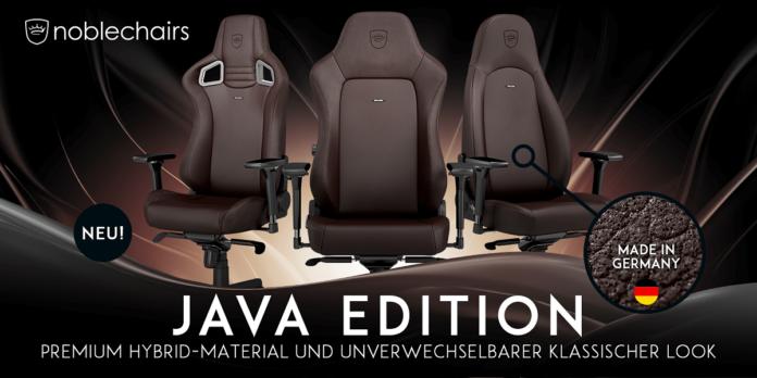 390793 696x348 - noblechairs Java Edition jetzt bei Caseking erhältlich!