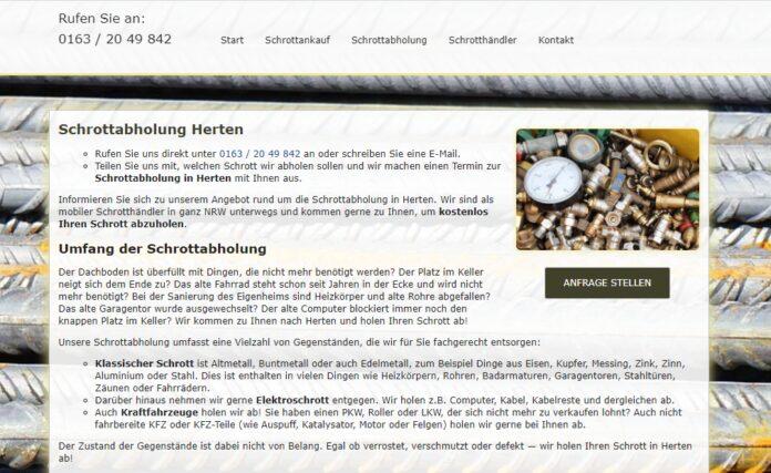 image 1 28 696x427 - Schrottabholung Herten – Schrott ordnungsgemäß entsorgen – Schrott-Ankauf-NRW