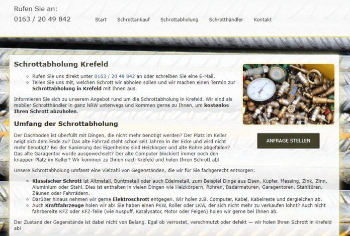 image 1 106 696x470 - Schrottabholung Krefeld – Schrott-Ankauf-NRW