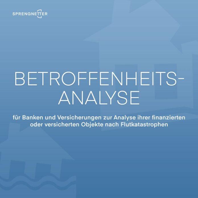 Betroffenenanalyse 1080x1080px 696x696 - Sprengnetter: Betroffenheitsanalyse für Banken und Versicherungen erkennt beschädigte und zerstörte Gebäude nach Flutkatastrophe