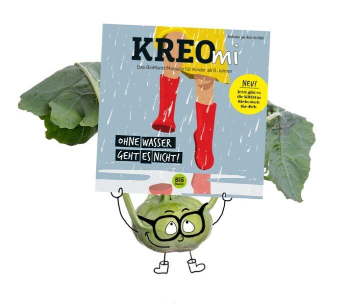 C2A920TERRITORY KREOmi Enrico 696x607 - BioMarkt startet mit TERRITORY das Nachhaltigkeits-Magazin KREOmi für Kinder