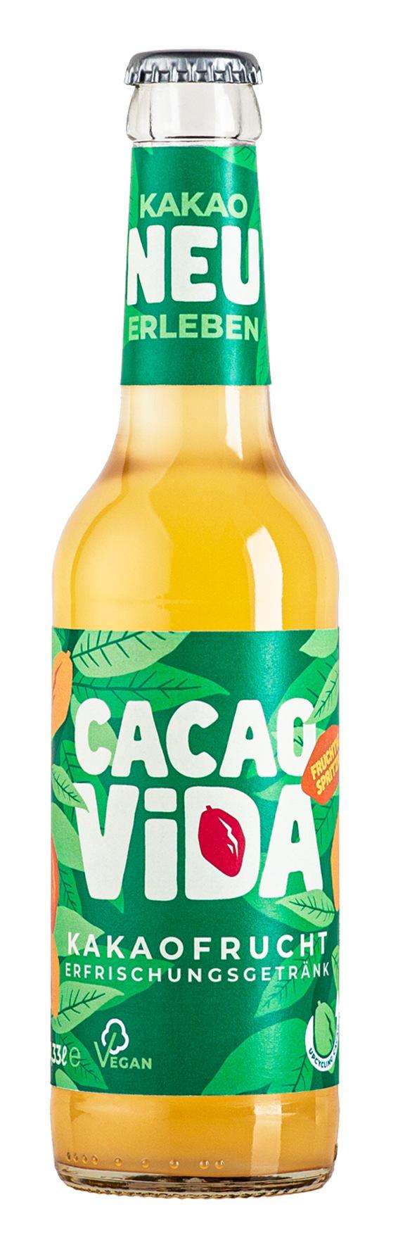 CacaoVida I - Wie kakaofruchtig ist das denn? / CacaoVida: das spritzige Kakaofrucht-Erfrischungsgetränk für den Sommer