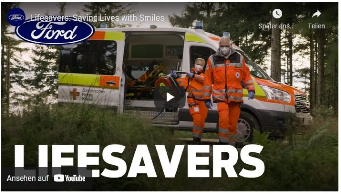 image 1 125 696x397 - Menschlichkeit und Opferbereitschaft - Kurzfilm von Ford zeigt Rettungshelfer des Bayerischen Roten Kreuzes