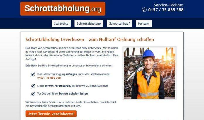 image 1 206 696x410 - Schrotthändler in Leverkusen helfen Ihnen gerne! Schrottabholung für Privat und Firmenkunden Leverkusen