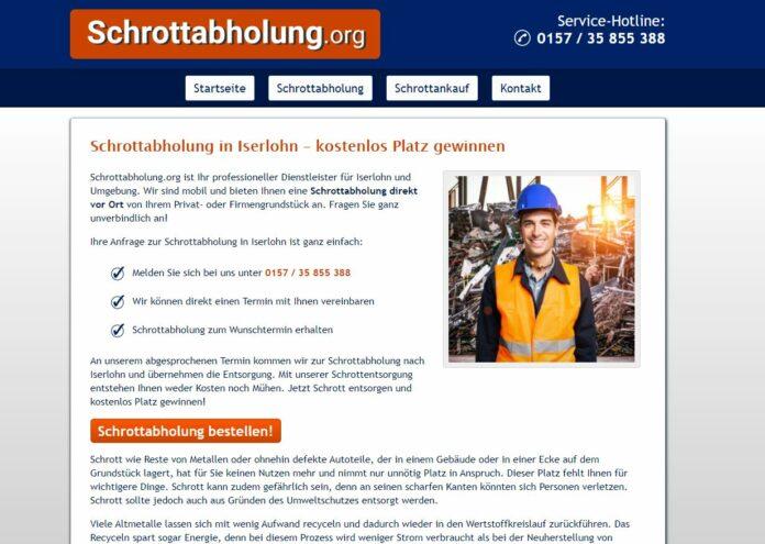 image 1 220 696x495 - Schrottabholung Iserlohn und dem Recycling in NRW
