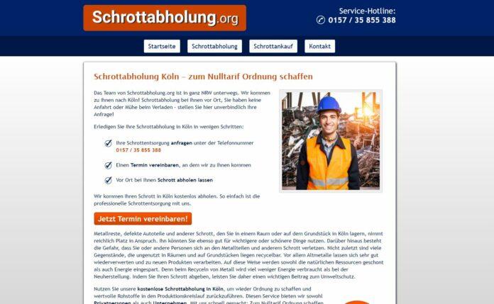 image 1 28 696x429 - Schrottabholung in Köln: Wir helfen Ihnen gerne weiter!